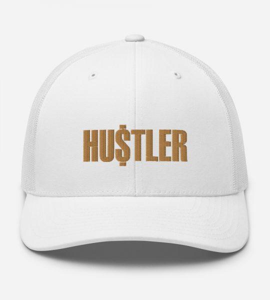 White Red Gold Hustler Hat