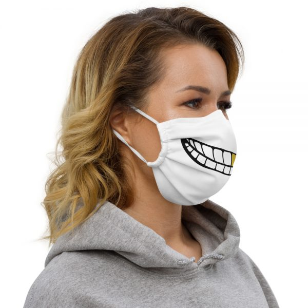 Reusable Gold Tooth Smile COVID Face Mask