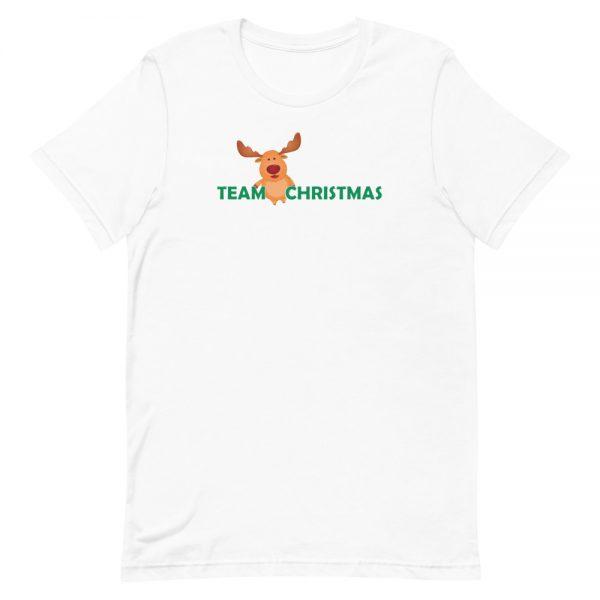 Team Christmas White T-Shirt