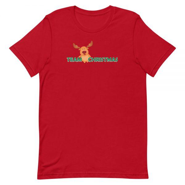 Team Christmas Red T-Shirt