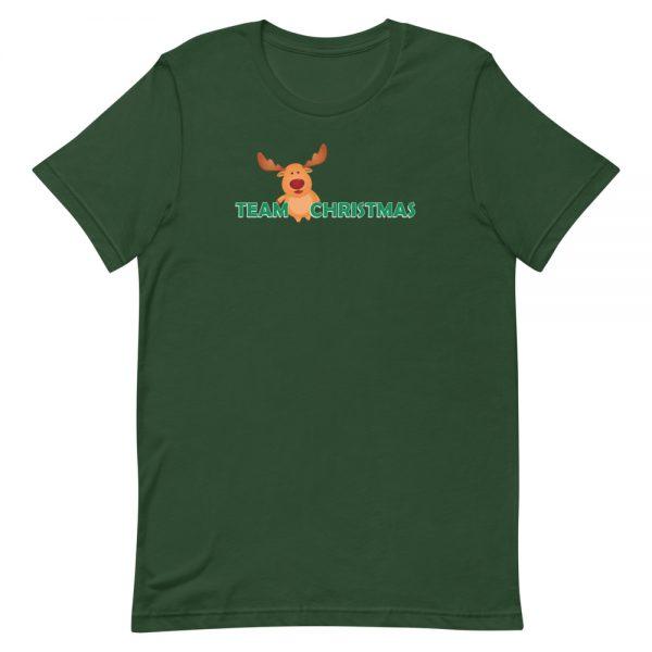 Team Christmas Green T-Shirt