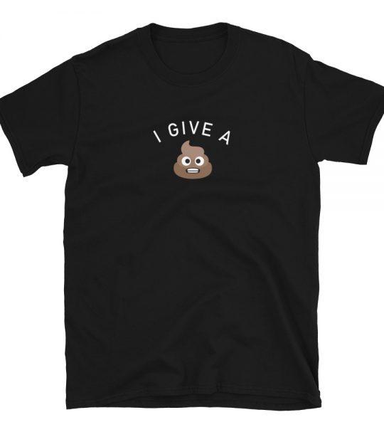 I Give A Shit Short-Sleeve T-Shirt