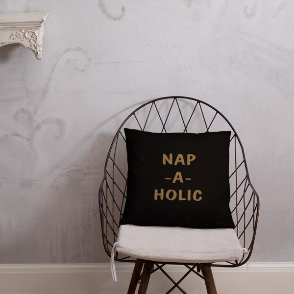 Nap-a-holic pillow