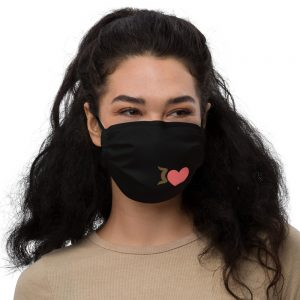 Emoji Kiss Face Mask for 2020