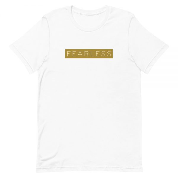 Fearless positive vibe quote T-shirt