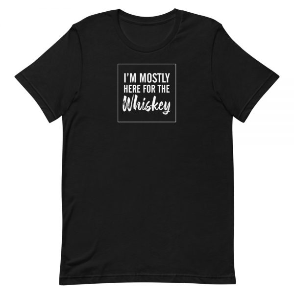 I'm mostly here for the Whiskey T-Shirt