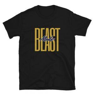 Beast Mode Gym Workout T-Shirt