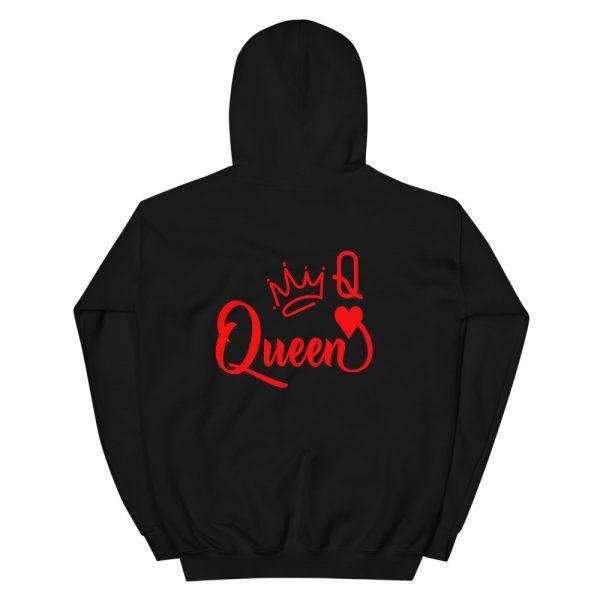 Queen of Heart Sweater Hoodie