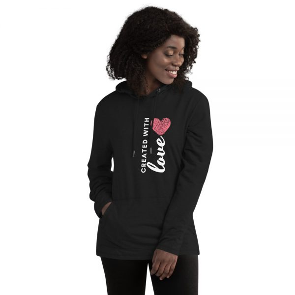 Created with Love Hoodie