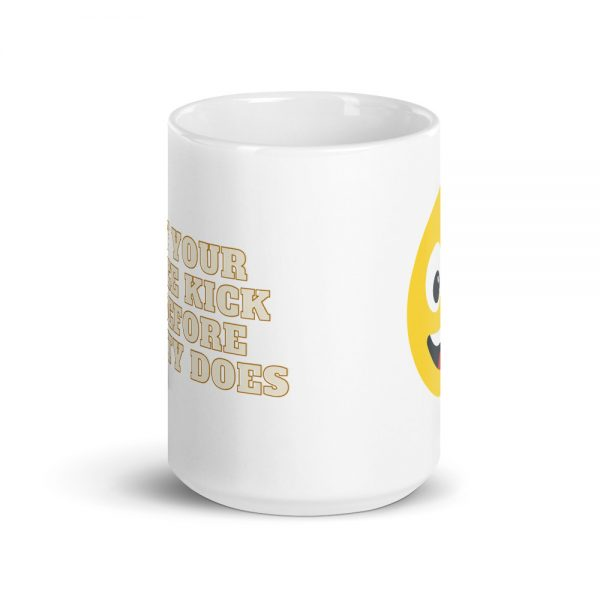 May Your Coffee Kicks In Before Reality Does - Latest good vibes Coffee Mug gift idea