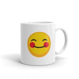 Coffee Made Me Do It! white glossy coffee mug